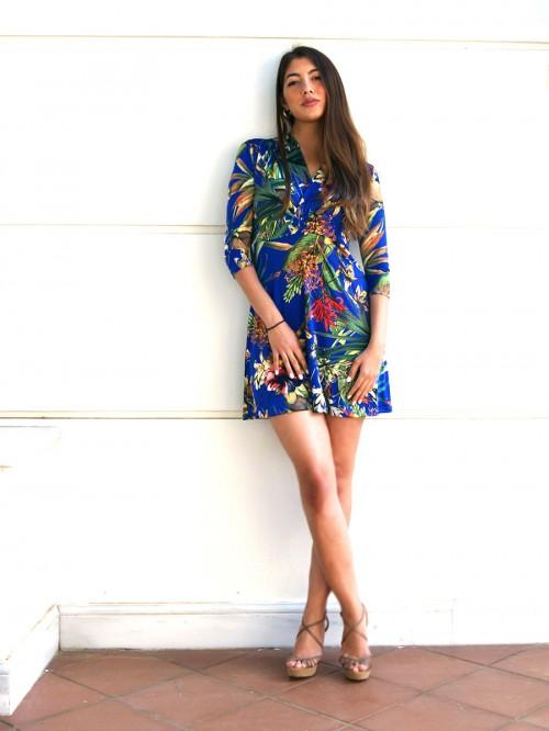 Φόρεμα φλοράλ μίνι