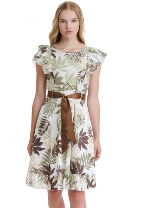 Φόρεμα βαμβακερό φλοράλ