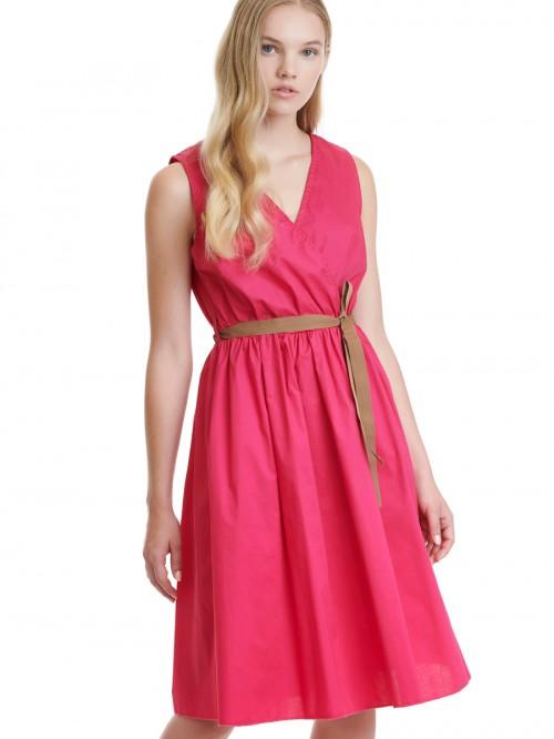 Φόρεμα κρουαζέ ποπλίνα