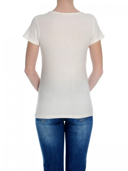 Μπλούζα κοντομάνικη με τρουκς