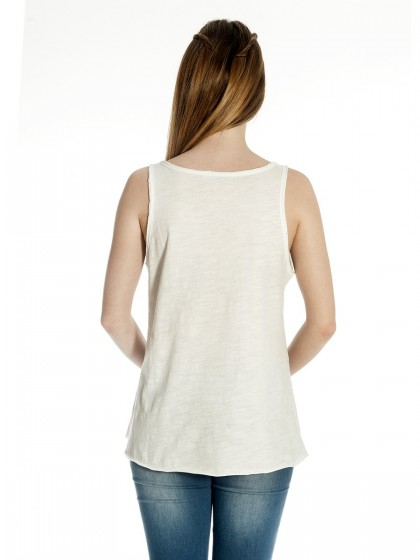 Τοπ μπλουζάκι πέρλες-στρας