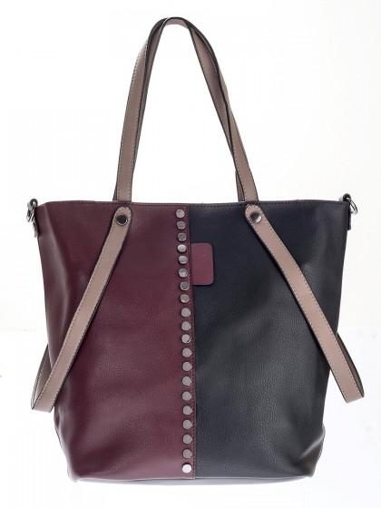 Τσάντα 2χρωμη τρουκς