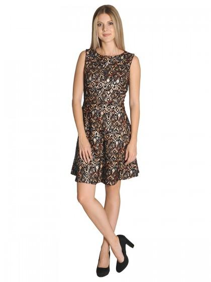 Φόρεμα αμπιγιέ μπροκάρ