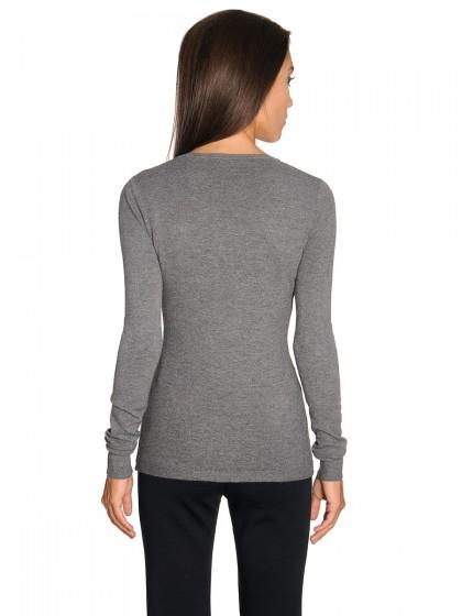 Πλεκτή μπλούζα λαιμόκοψη