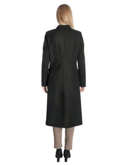 Παλτό μακρύ όρθιος γιακάς