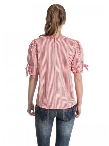 Μπλούζα ριγέ τρουκς μανίκια