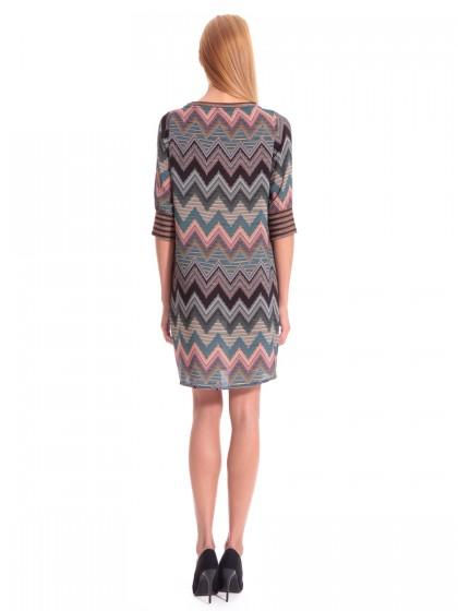 Φόρεμα τύπου Missoni lurex λάστιχα