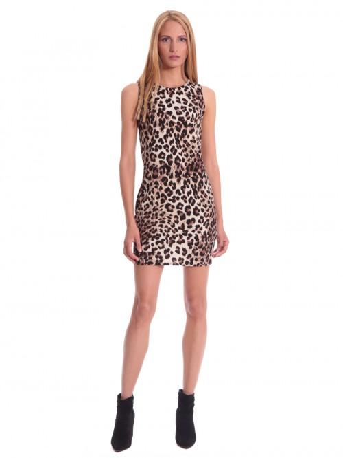 Φόρεμα λεοπάρ εφαρμοστό
