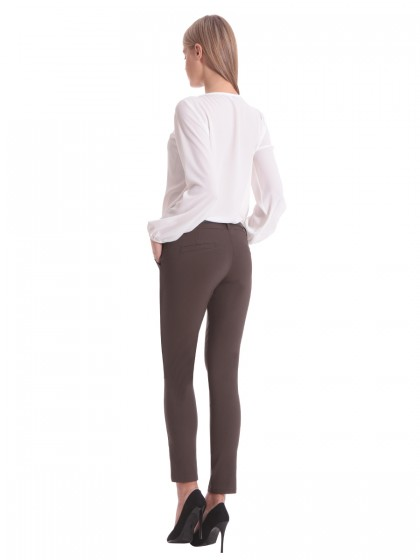 Παντελόνι ελαστικό γκρο ζώνη