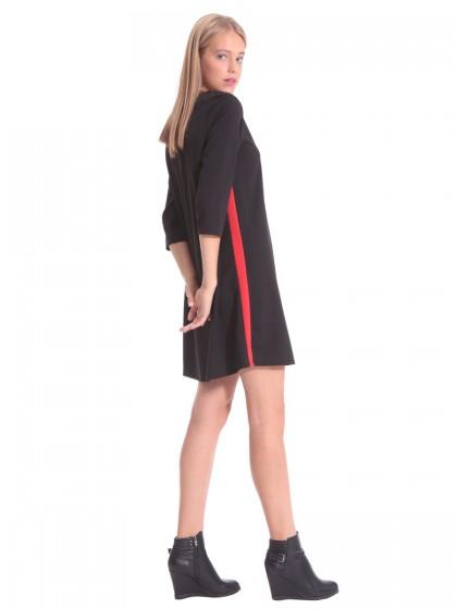 841d6659bccd Φόρεμα μαύρο τύπου αθλητικό ...