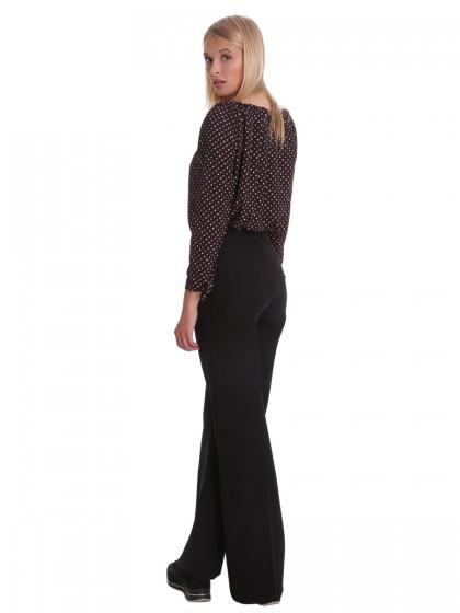 Παντελόνα μαύρη ψηλόμεση