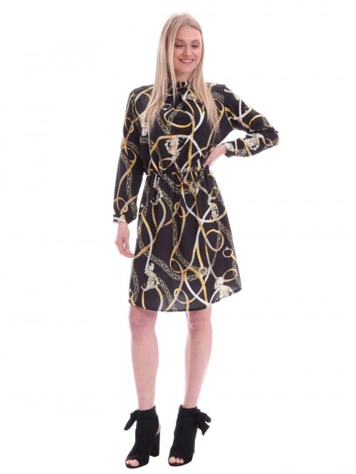 Φόρεμα με σχέδιο αλυσίδες