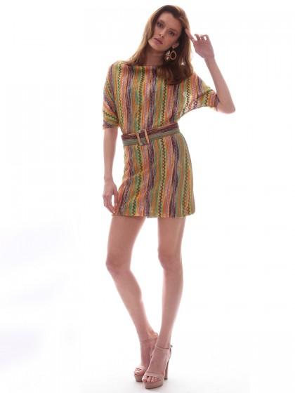 Φόρεμα τύπου Missoni