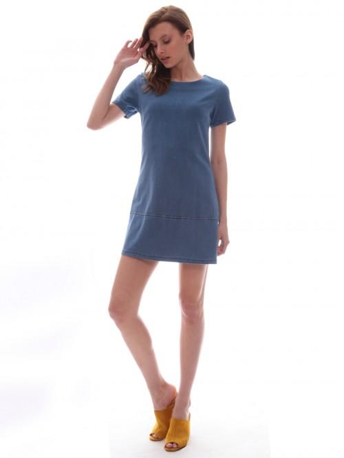 Φόρεμα τζιν ζέρσει