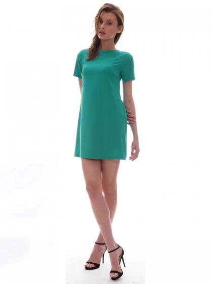 Φόρεμα μίνι φιόγκος πλάτη