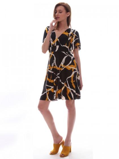 Φόρεμα καθημερινό ζέρσει μπατίκ