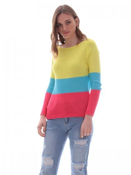 3fcf9f5194b0 Γυναικείες Πλεκτές Μπλούζες   Ζακέτες Χειμωνιάτικες - Miss Simbolo