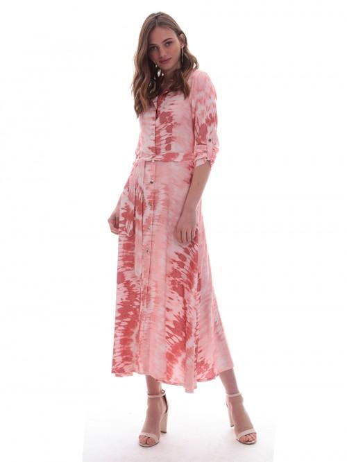 Φόρεμα μάξι σεμιζιέ