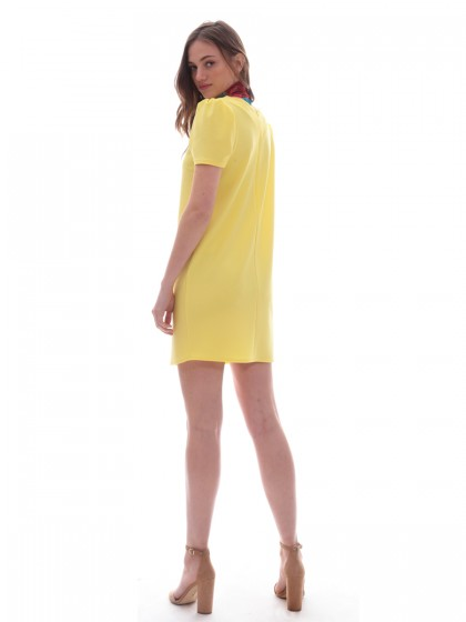 516c736ecfc4 Φόρεμα μίνι σούρα ώμοι Φόρεμα μίνι σούρα ώμοι