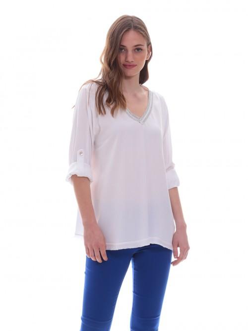 Μπλούζα V lurex