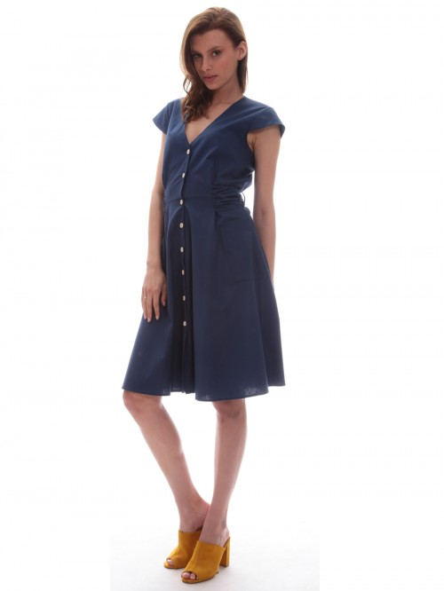 c44505e84ff3 Φόρεμα κλος κουμπιά