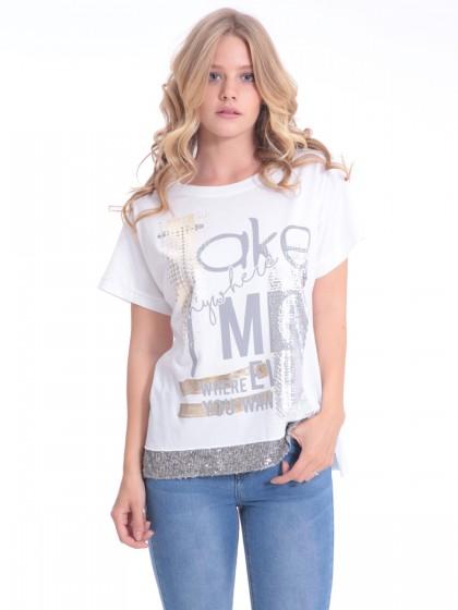 1039cc5f3386 Γυναικείες Μπλούζες Online - TOP Τιμές - Miss Simbolo