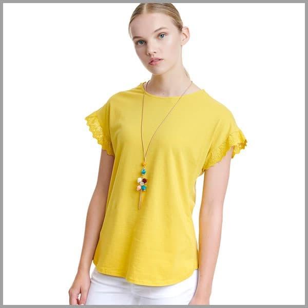 Γυναικεία μπλούζες Miss Simbolo Καλοκαίρι 2020